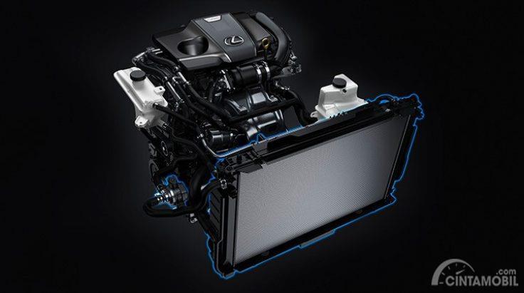 Tampak Mesin Lexus NX300T F-Sport