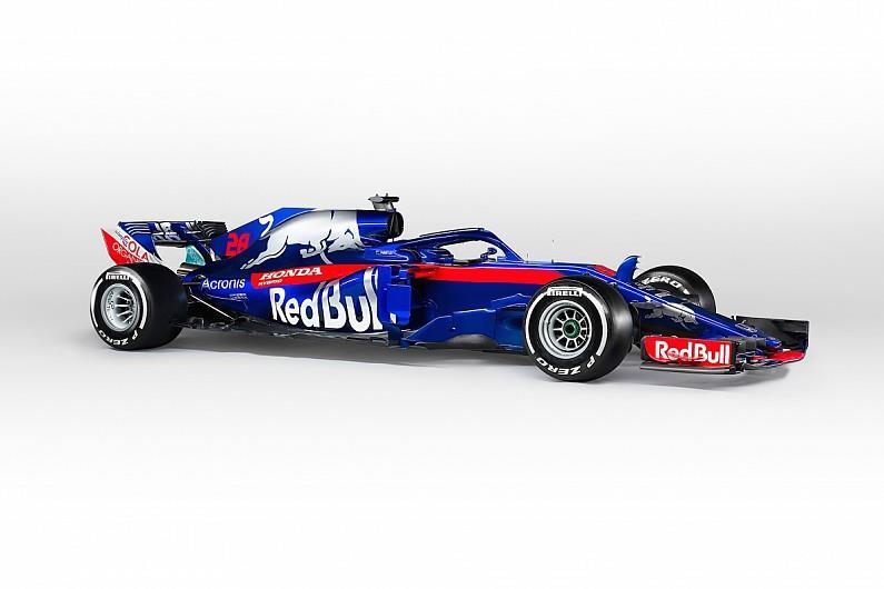 Tampak Mobil F1 Toro Rosso Honda F1 STR 13