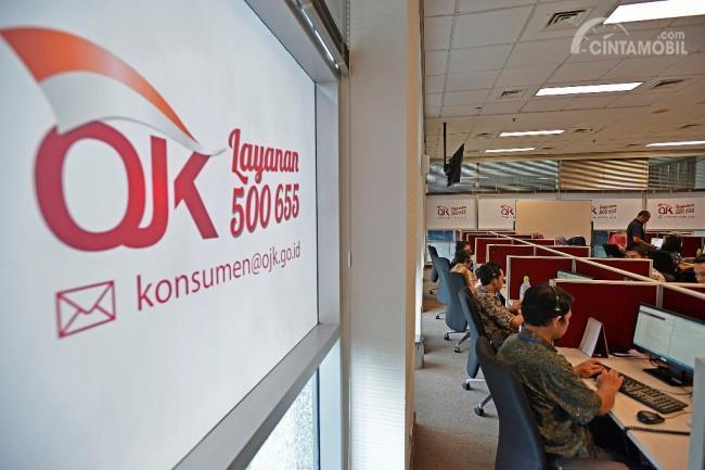 Foto kantor Otoritas Jasa Keuangan