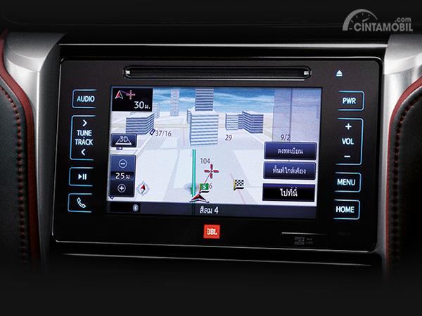 Tampak Audio JBL Di Toyota Fortuner TRD Sportivo Thailand Spec 2019