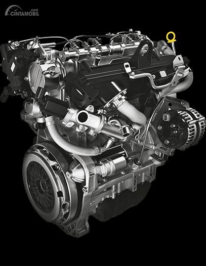 Tampak Mesin DDiS 190 Diesel Mesin New Suzuki Beleno 2019