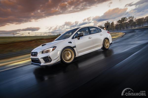 tampak samping Subaru WRX STI S209 2019