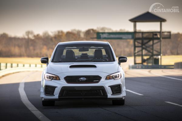 Tampak depan Subaru WRX STI S209 2019
