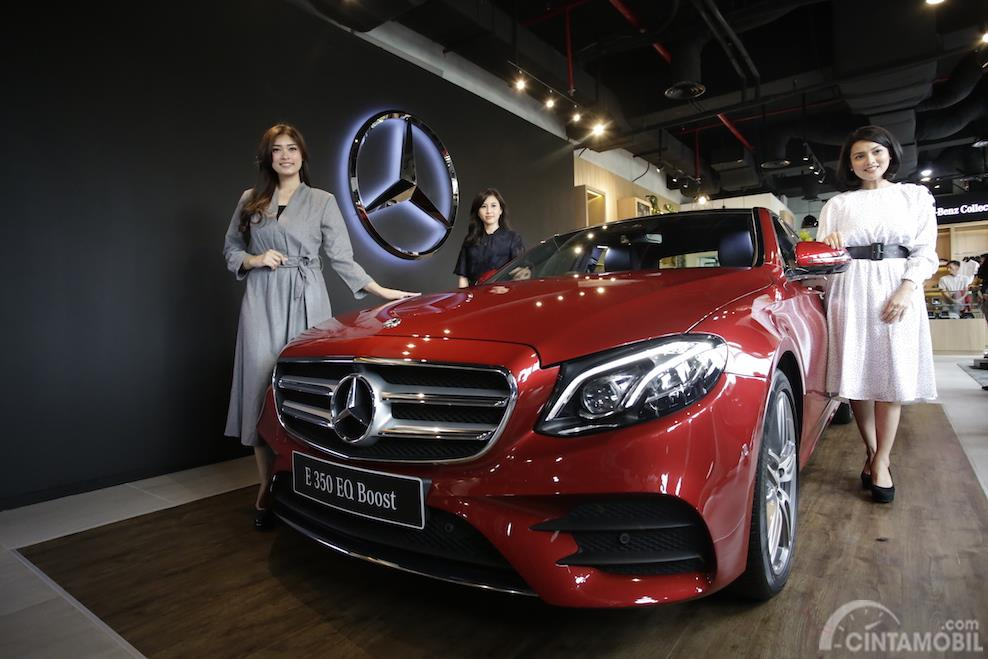 model baru Mercedes-Benz E 300 AMG Line 2019