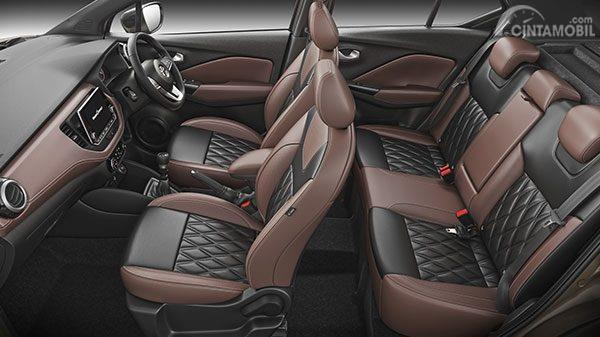 Kursi Nissan Kicks 2019 memiliki ruang kaki yang sangat lega