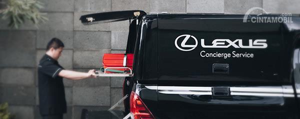 Lexus Concierge Service semakin memanjakan Anda sebagai pemiliki Lexus UX