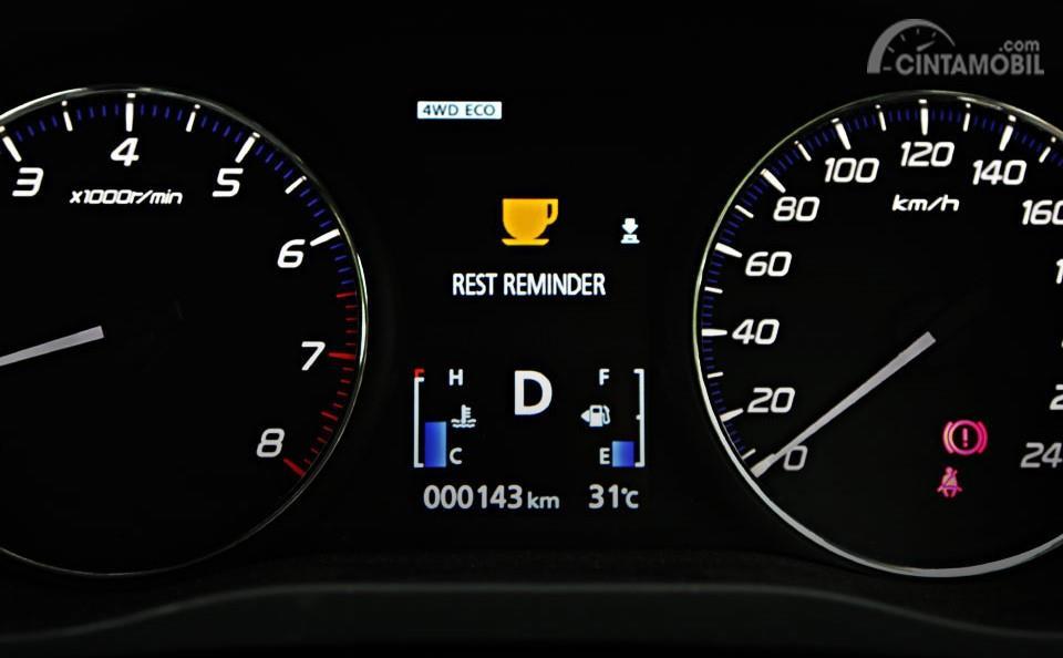 Foto fitur Rest Reminder Mitsubishi Outlander