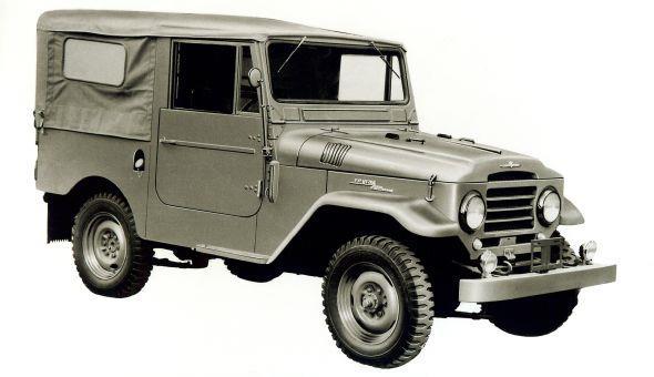 Toyota Land Cruiser 20 Series merupakan peralihan dari mobil militer menjadi mobil yang siap pakai untuk masyarakat