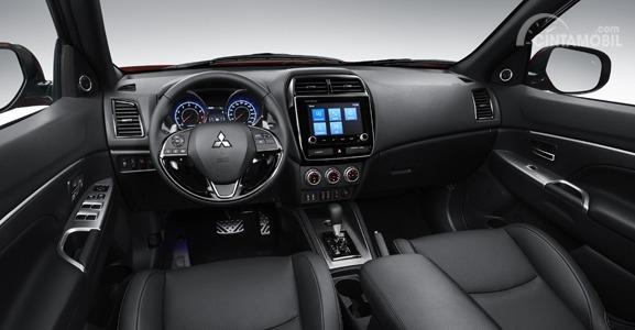 Gambar menunjukkan Layout Interior Mitsubishi Outlander Sport 2019