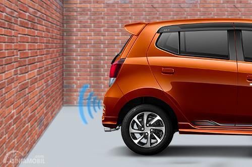Jenis suara buzzer akan berbeda-beda ketika jarak mobil berbeda-beda