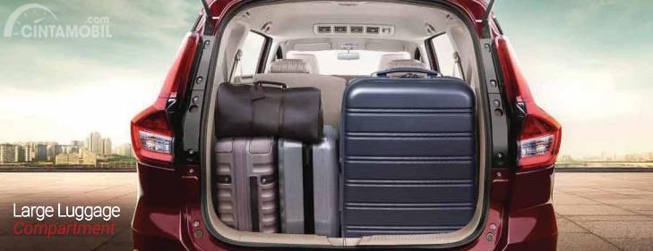 Bagasi Suzuki Ertiga 2019 memiliki kapasitas 209 hingga 803 Liter