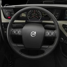 Gambar menunjukkan desain bagian Setir Volvo FH16 2012