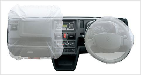 Dual Airbag pada Suzuki Super Carry Pick-Up 2013