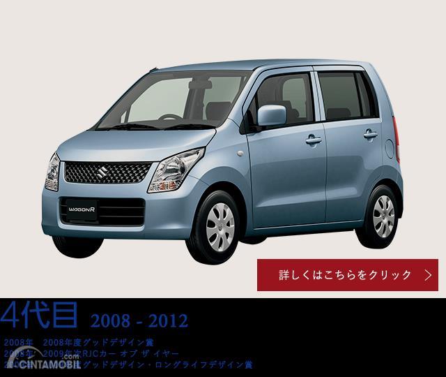 Tampak Suzuki WagonR generasi keempat