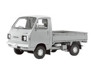 Gambar menunjukkan tampilan mobil Suzuki ST10 tahun 1976
