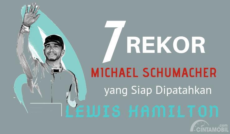[INFOGRAFIK] 7 Rekor Michael Schumacher yang Siap Dipatahkan Lewis Hamilton