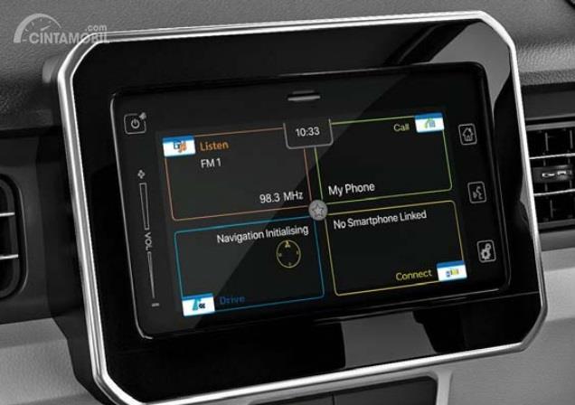 Fitur Hiburan Suzuki Ignis 2019 hadir dengan teknologi Touchscreen