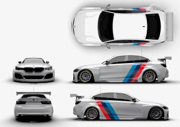 Penampakan BMW seri 3 versi BTCC