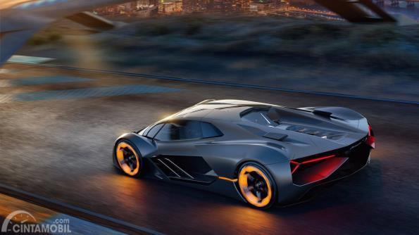 Lamborghini Terzo Millenio, mobil konsep yang akan menjadi basis Aventador baru dengan teknologi hybrid