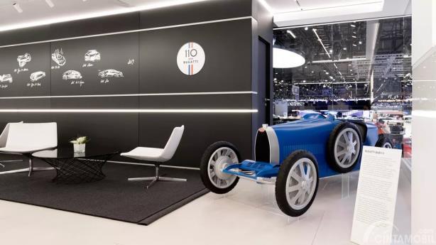 Bugatti Jual Mobil 'Mainan' Baby II, Berapa Harganya?