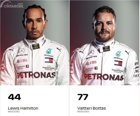 Lewis Hamilton-Valtteri Bottas