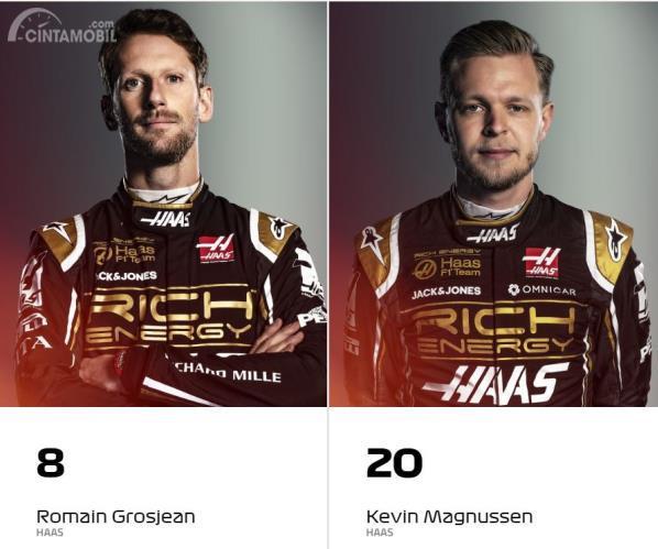Romain Grosjean-Kevin Magnussen