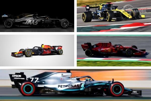 Jelang F1 2019, Mari Berkenalan Dengan Tim dan Pebalap (Bagian II)