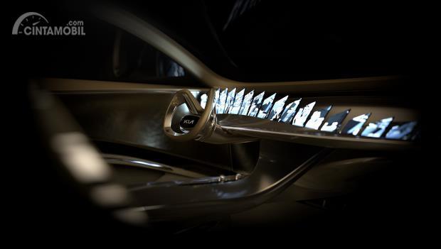 Interior Kia Imagine Concept dilihat dari sisi penumpang