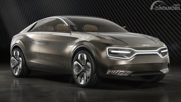 Kia Imagine Concept tampak depan