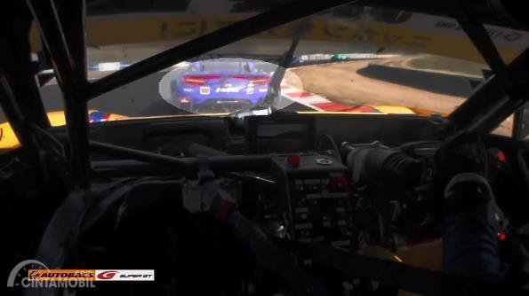 Gambar menujukkan Winker Honda NSX Concept GT 2017