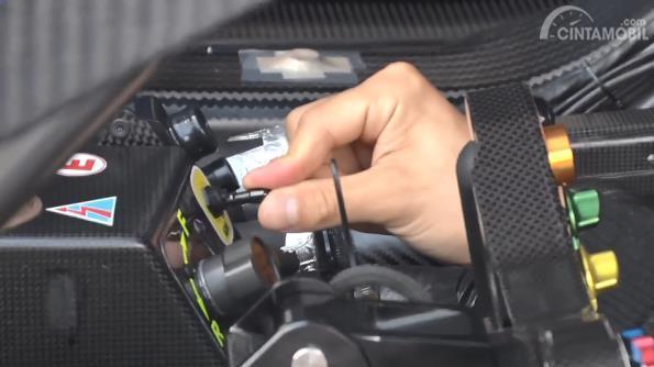 Gambar menunjukkan Starter elektrik Honda NSX Concept GT 2017
