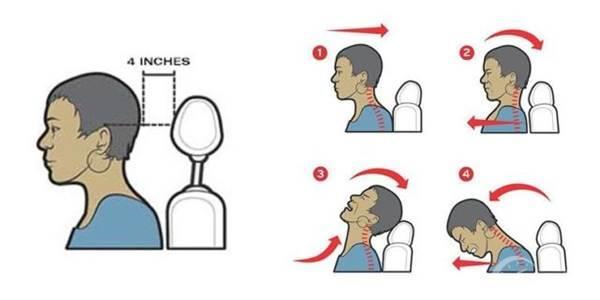 pemasangan headrest