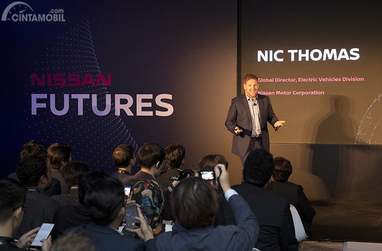 Foto Direktur Global kendaraan listrik Nissan
