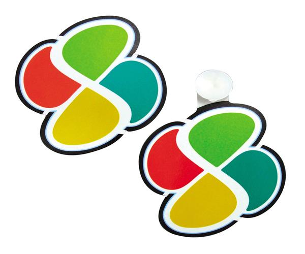 Contoh stiker Koreisha di Jepang