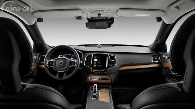 Interior mobil Volvo generasi terbaru