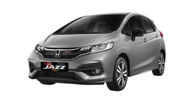 Gambar menunjukkan Honda Jazz Generasi Ketiga