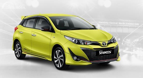 Gambar menunjukkan Toyota Yaris Generasi Ketiga