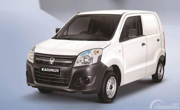 Tampilan depan Suzuki Karimun Wagon R Blind Van