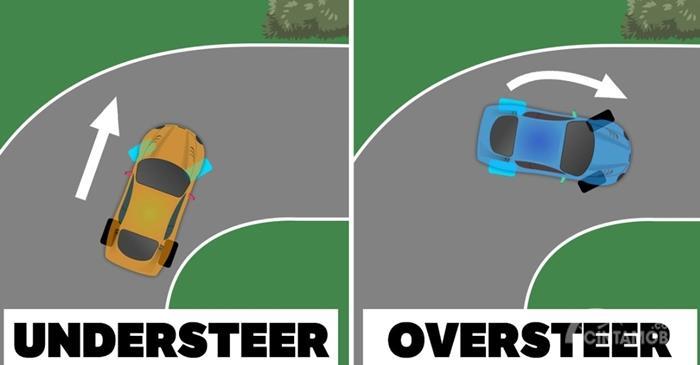 Ilustrasi Understeer dan Oversteer