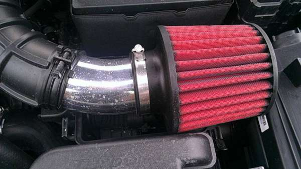 Air filter tipe open filter buatan aftermarket