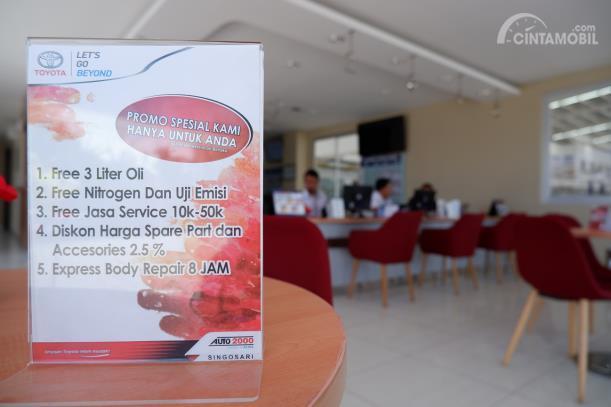 Program promo untuk pengguna Toyota di Auto2000 Singosari
