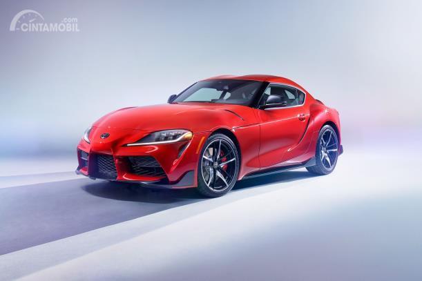 Toyota Supra 2019 warna merah