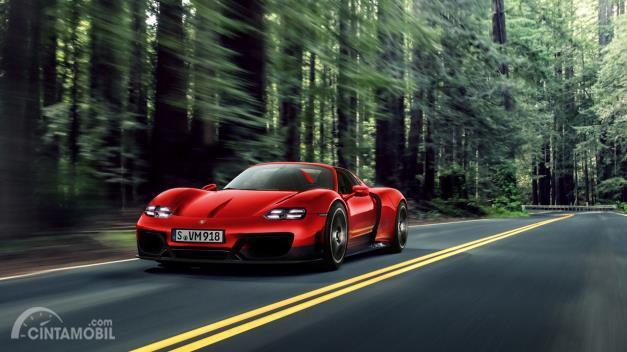 Genjot Elektrifikasi, Porsche Buka Kemungkinan Buat Hypercar Listrik