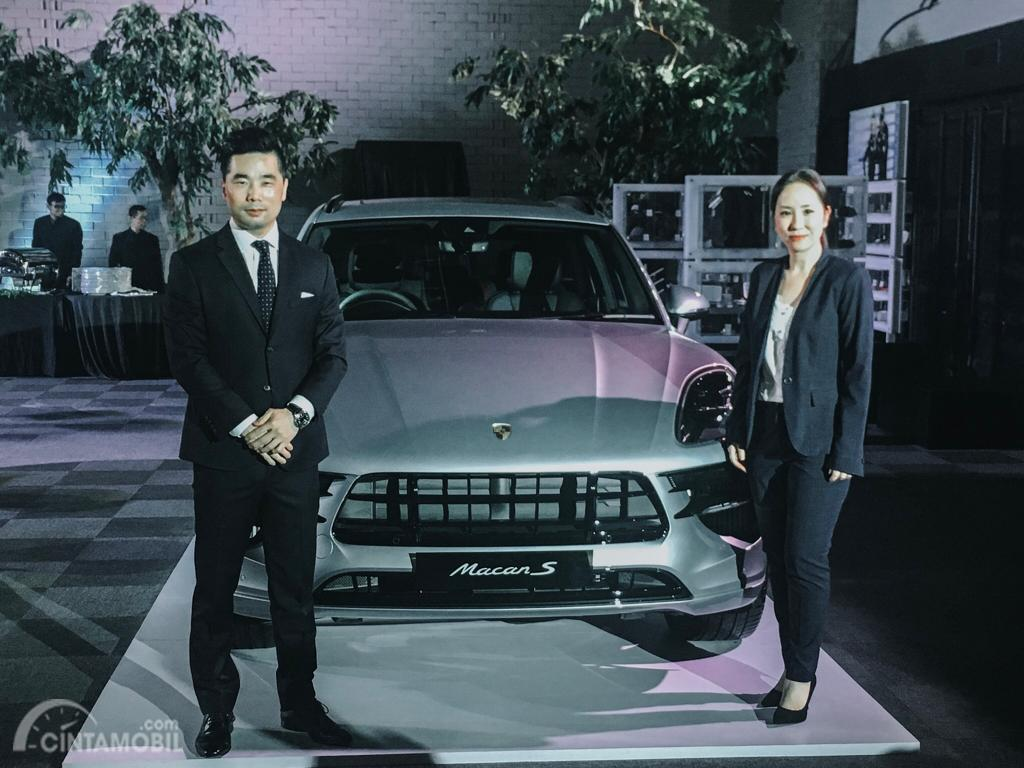 Penampilan perdana The New Porsche Macan 2019 di Indonesia