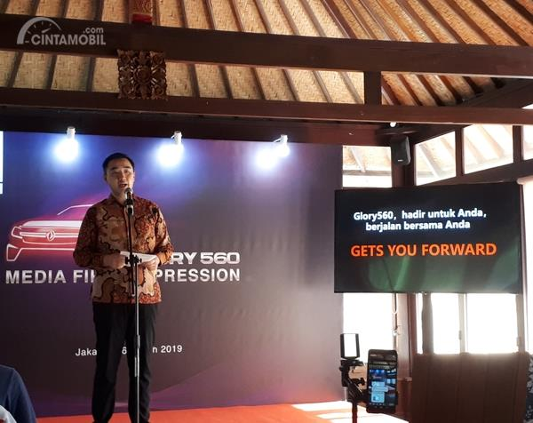 Managing Director Franz Wang percaya pasar otomotif Indonesia masih luas