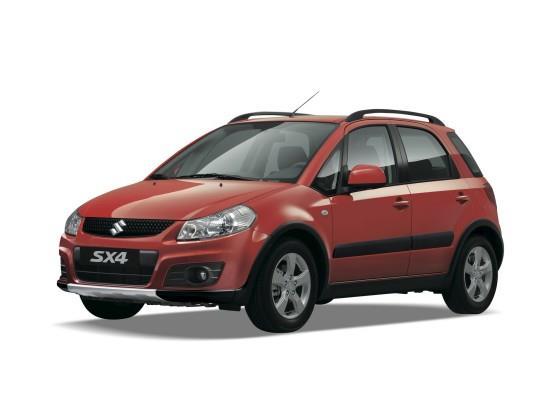 Gambar Suzuki SX4 X-Over 2007