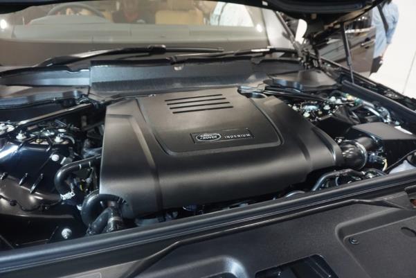 Penampakan mesin baru Land Rover Discovery