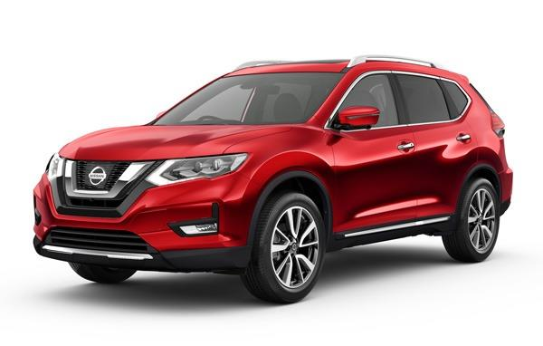 Tampak tampilan depan Nissan X-Trail T32 facelift