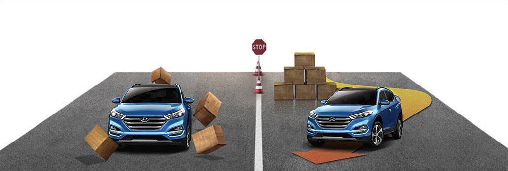 Gambar menujukkan Fitur ABS Hyundai Tucson XG CRDi 2017