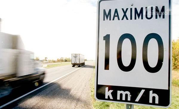Batas kecepatan di jalan raya